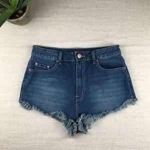 BDG Super High Rise Cutoff Jean Shorts. Size 31